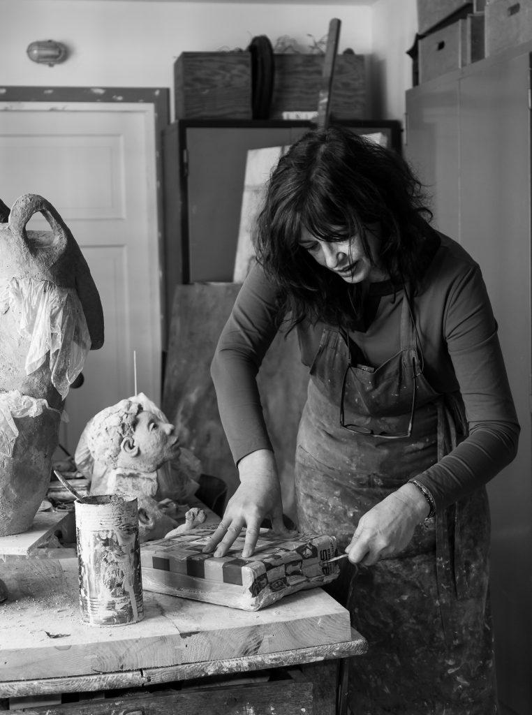 Marianne van den Berg - atelier